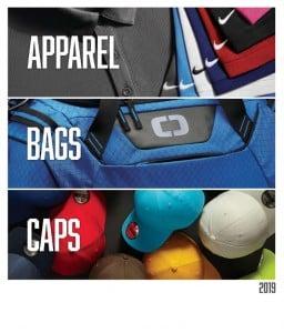 Apparel, bags, and caps in California